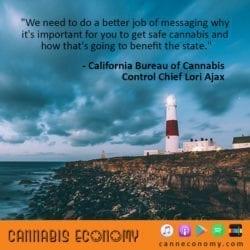 Ep. 406: Lori Ajax, CA Bureau of Cannabis Control